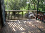 Replace missing balustrades to match existing.