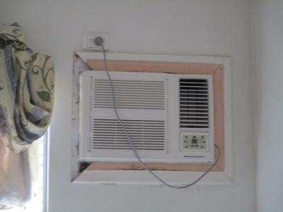 Remove and make up new fascia around air conditioner