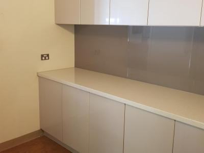 Install flat pack butlers kitchen.